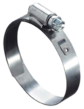 Ideal Worm Gear - Lined Hose Clamps